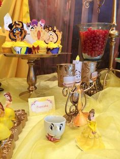 Beauty and the beast birthday party Beauty And Beast Birthday, Beauty And The Beast Theme, Disney Beauty And The Beast, Beauty Beast, Disney Princess Tattoo, Disney Princess Birthday, Punk Princess, Bueaty And The Beast, Party Cartoon