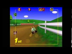 Mario Kart 64 Playthrough #1: 150cc Mushroom Cup