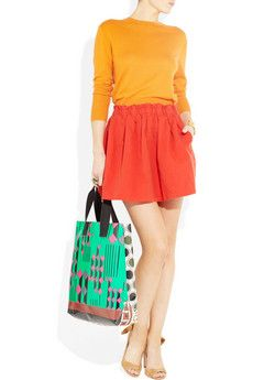 Aubin & Wills, Carraville cotton and linen-blend mini skirt