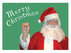 a lenticular moving asl merry christmas card this is my dad who - Asl Christmas