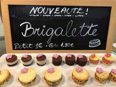 la nouveauté chez Miloca : Brigalette - une pâte à tartelette en forme de coque qu'entourre le brigadeiro un mariage très réussi du moeleux et du croquant