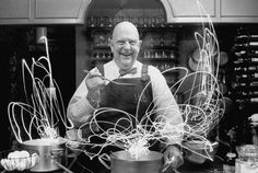 Famous chef James Beard, close friend of Julia Child, and well known for his breads and fondness of all wines and foods.