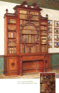 Wilton House, Violin bookcase
