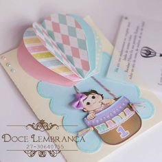 Rainbow Hot Air Balloon and paper doll party