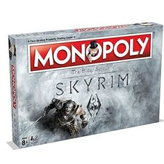 Monopoly Skyrim Edition. Because losing friendships with the regular board game isn't enough.