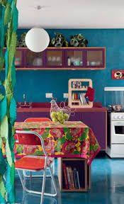 Risultati immagini per bohemian kitchen