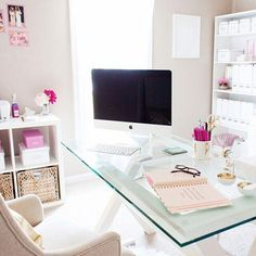 ideas for office decor beautiful home office space design about home decor interior office ideas decorating work Home Office Space, Home Office Design, Home Office Decor, Home Design, Interior Design, Design Ideas, Interior Office, Office Spaces, Work Spaces