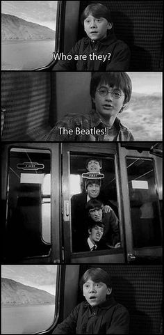 Harry Potter and the Beatles  Hard Day's Night