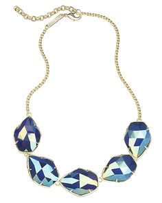 Connely Necklace in Iridescent Cobalt - Kendra Scott Jewelry. Coming October 15!