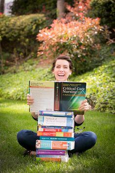 Octoberleaf Photography - Graduation Pictures. Nursing Graduation Photos. Portrait