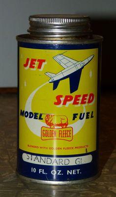 1960's Golden Fleece service station Standard GL model fuel can