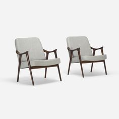 Rolf Rastad and Adolf Relling lounge chairs