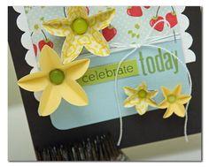 cool handmade flower embellishments!