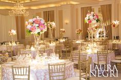 St. Regis Atlanta Wedding: Laura McAlister & Trammell Summers - May 18, 2013. Photography by Laura Negri Photography. Planning by Christina Zubowicz. Decor by A Legendary Event.