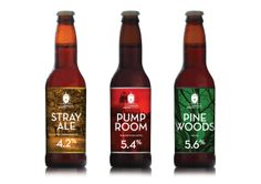 The Harrogate Brewing Company by Dean Harding, via Behance
