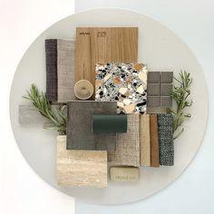 Mood Board Interior, Interior Design Boards, Home Decor Inspiration, Design Inspiration, Material Board, The Design Files, Presentation Design, Colour Schemes, Interiores Design