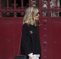 #StreetStyle details: CHANEL brooch