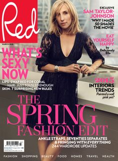 Sam Taylor-Johnson on Fifty Shades of Grey and Jamie Dornan in Red's March 2015 issue. www.redonline.co.uk
