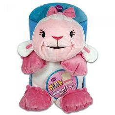 LiveZippy 12010527 Doc Mcstuffins Lambie Blanket Puppet