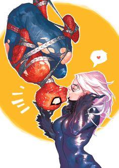 Amazing Spider-Man #18.1 | Spider-Man & Black Cat
