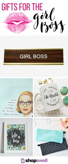 Start creating a Girl Boss worthy space with these 30 chic office decor essentials. Girl, you've got this!