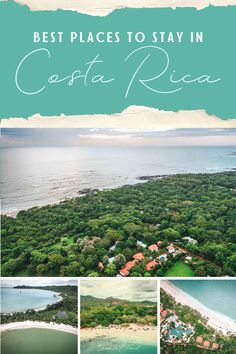 Wondering which are the best places to stay in Costa Rica? We have traveled the country far and wide and come up with this list of the best places to stay in Costa Rica to help you plan your trip. Whether you are a nature lover, party animal, or beach bum, you will find the perfect place to lay your head from this list of the best places to stay in Costa Rica. Amazing Destinations, Travel Destinations, Corcovado National Park, Springs Resort And Spa, Costa Rica Travel, Beach Bum, Plan Your Trip, Central America, Vacation Trips