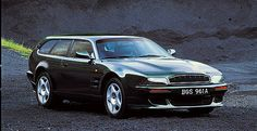 Aston Martin V8 Vantage Shooting Brake, 1996. The 5.3 litre engine developed more than 600 bhp, while the acceleration was a breathtaking 0-60 in less than four seconds.