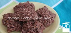 No-Bake Cookies Unrefined Kitchen cup honey (or less) 1 Tbsp. cocoa cup coconut oil or butter cup almond butter 1 tsp. Gluten Free Sweets, Paleo Dessert, Healthy Desserts, Primal Recipes, Raw Food Recipes, Cooking Recipes, Paleo No Bake Cookies, Coconut Cookies, Healthy Cookies