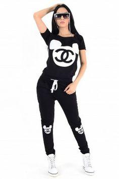 Trening Dama Negru Cu Alb Online Shopping For Women, Sporty, Women's Fashion, Clothes For Women, Tops, Outerwear Women, Fashion Women, Womens Fashion