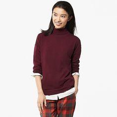 8c55123787cde In dark red, not bright red Sweater Scarf, Winter Sweaters, Winter Wardrobe,