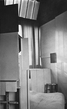 André Kertész, L'atelier de Mondrian, Paris, 1926