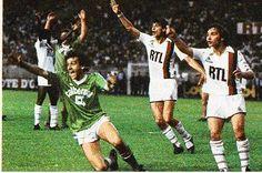 Platini Saint Etienne 1982