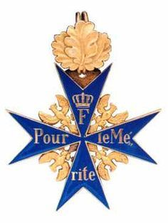 The Blue Max, The Red Baron, Pour Le Merite, Military heraldry medals and insignia, Blue Ribband and Blue Ribbon honours.