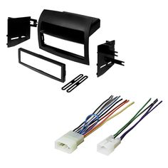 Single Din Car Stereo Dash Kit, Wire Harness, Antenna