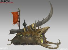 ArtStation - Early Draken Building Concepts, Johnson Truong