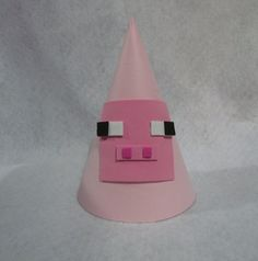 Minecraft Inspired Party Hats by LittleLukasPartyShop on Etsy