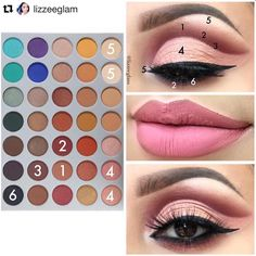 8 Steps To Achieve Perfect Eye Makeup – Makeup Mastery Makeup 101, Day Makeup, Makeup Goals, Skin Makeup, Makeup Inspo, Beauty Makeup, Jaclyn Hill Eyeshadow Palette, Jaclyn Hill Palette, Morphe Palette