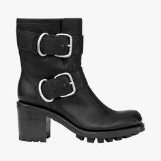 Boots à talons esprit motard - FREE LANCE - Find this product on Bon Marché website - Le Bon Marché Rive Gauche