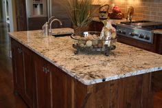 Light, Textured Granite Countertop