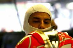 Felipe Nasr prepares to go out in Canada