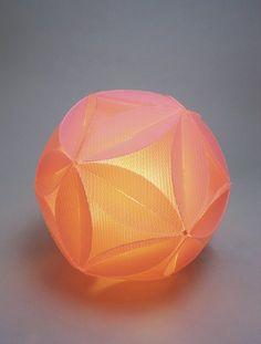 Flake Lamp Pink