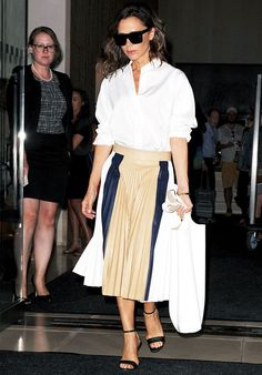 18 Victoria Beckham Style Secrets Anyone Can Copy via @WhoWhatWearUK