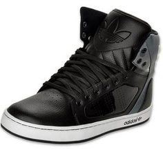 adidas originals high tops black and white