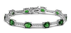 """5MM POLISHED Italian .925 Sterling Silver 7.5"""" OVAL MAY BIRTHSTONE EMERALD TENNIS BRACELET THE ICE EMPIRE. $62.95. STYLE: TENNIS BRACELET. BRACELET WIDTH 5MM. METAL: .925 STERLING SILVER. STONE TYPE: OVAL EMERALD (MAY BIRTHSTONE). LENGTH: 7.5"""". Save 48% Off!"""
