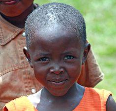 child in Gisenyi, Rwanda