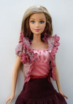 Fashion Fever Barbie by chococat85, via Flickr