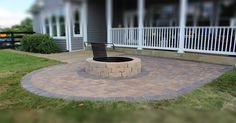 Patio Extension and Fire Pit #kentuckytwist, #thealternativelandscapecompany Landscaping Company, Alternative, Fire, Patio, Outdoor Decor, Projects, Home Decor, Log Projects, Blue Prints