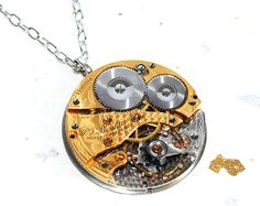 Hey, I found this really awesome Etsy listing at https://www.etsy.com/listing/240305724/steampunk-necklace-exceptionally-rare-97
