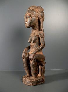 Statue Baoulé Bloblo Bian - Côte d'Ivoire