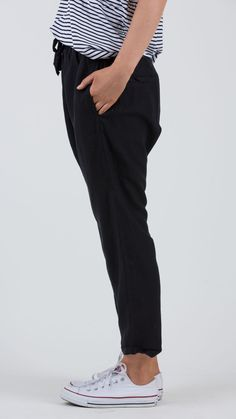Ryder Linen Pant - Feather and Noise